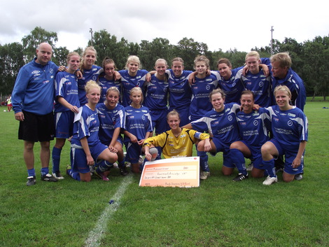 RMIF:s damlag som tog silver i ÖM 2011.