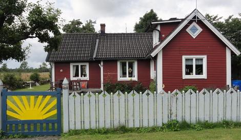 """""""Edlas hus"""" byggt cirka 1920."""